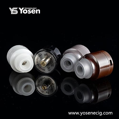 Authentic Ystar Nuwa RDA 24mm Full Ceramic Rebuildable Dripping Atomizer  with BF Pin